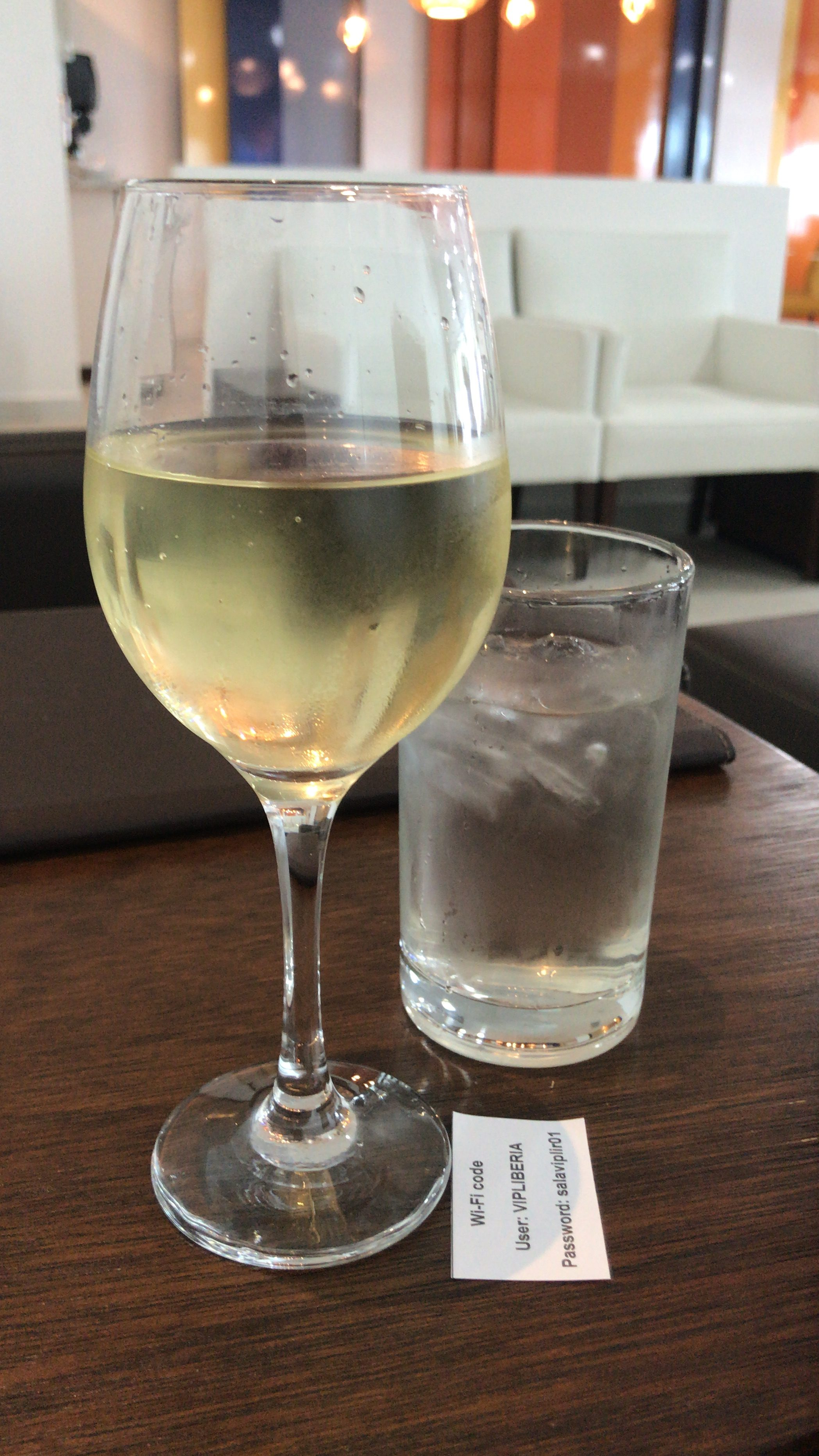 Wine and water- a good way to start the day