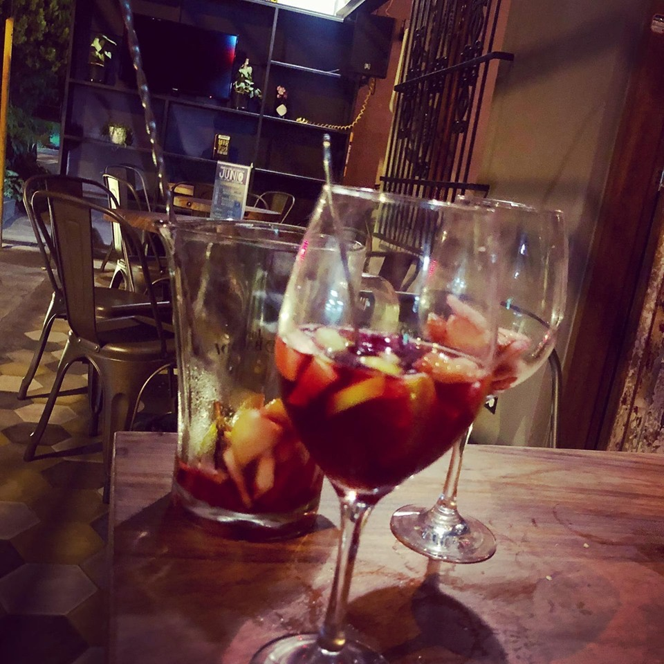 Sangria and cool bar