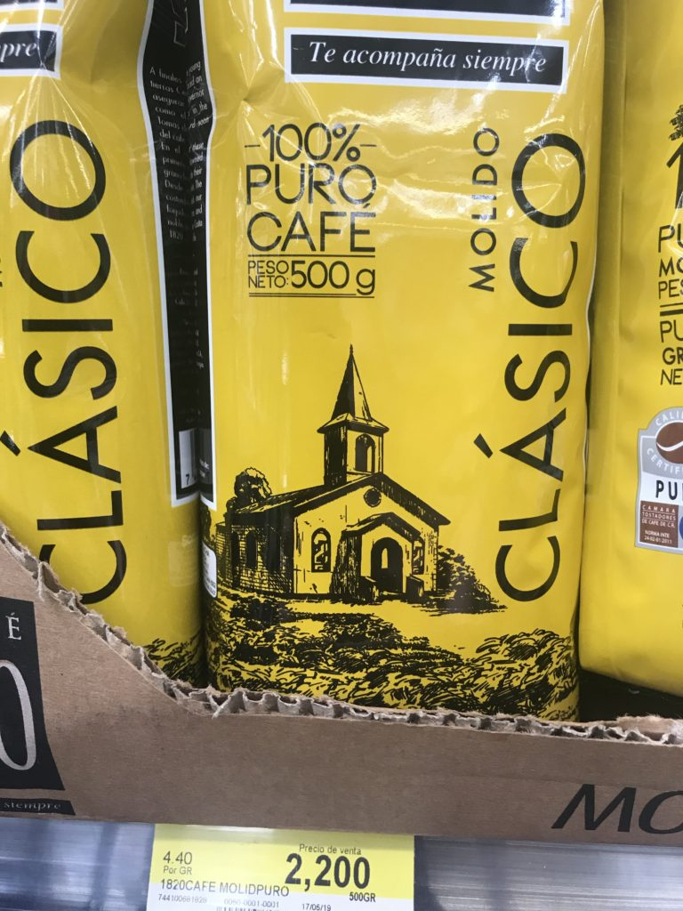 My favorite coffee- and it's just the basic grocery store kind