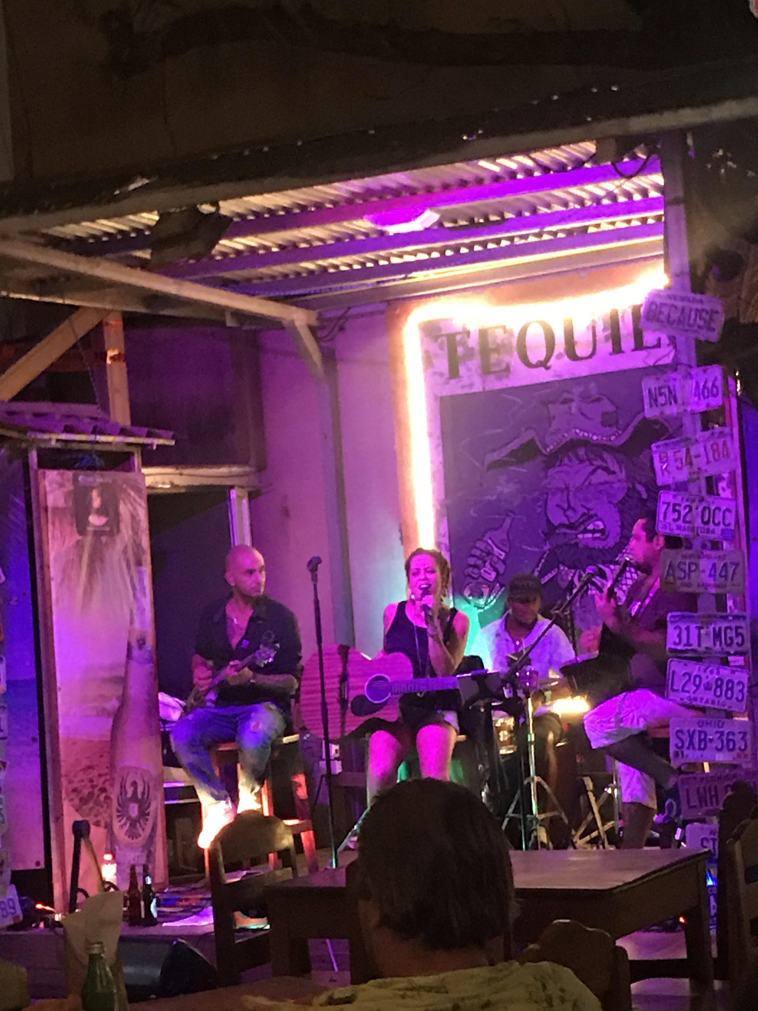 More live music