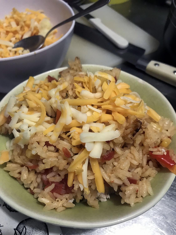 Chicken Enchilada Rice