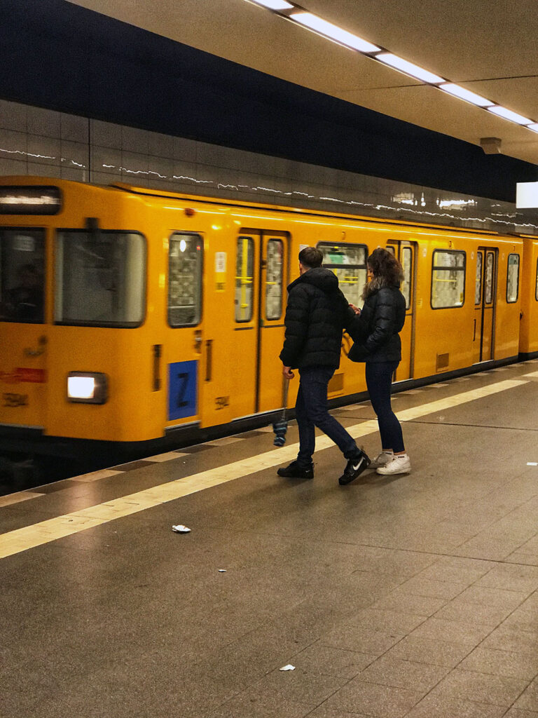 Berlin U-Bahn train