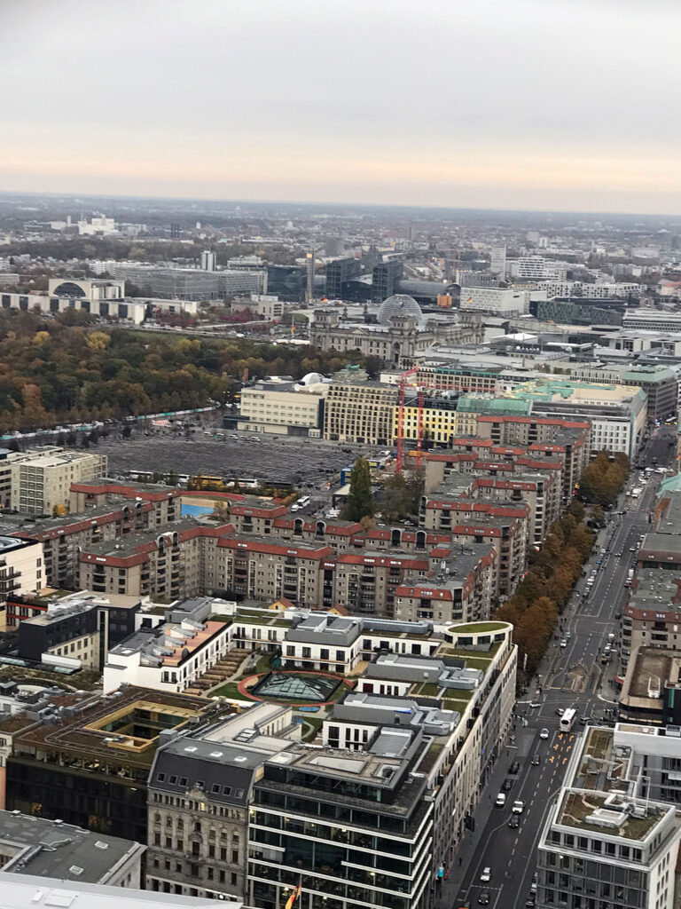 Skyview of Berlin