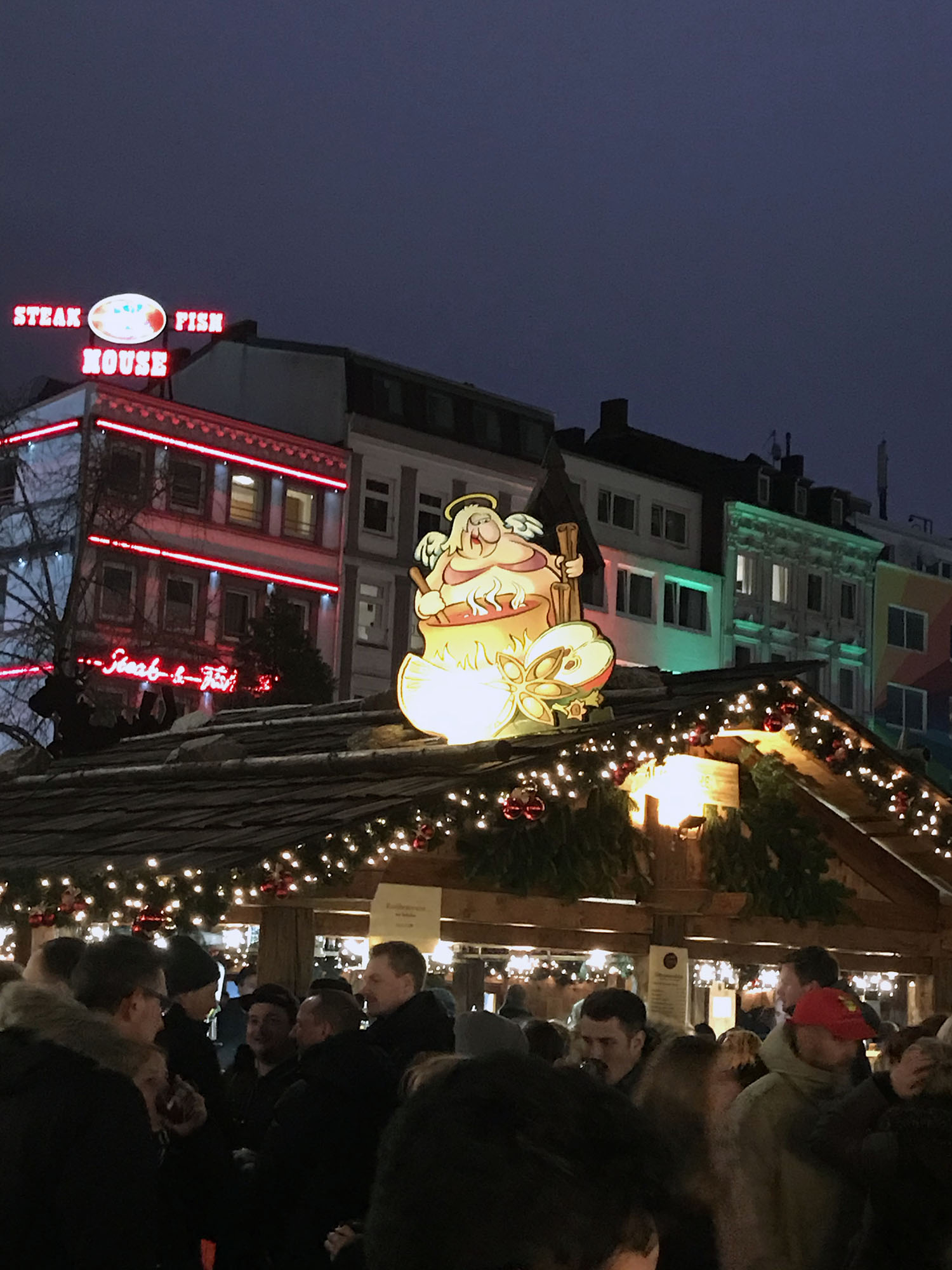 Dirty Christmas market