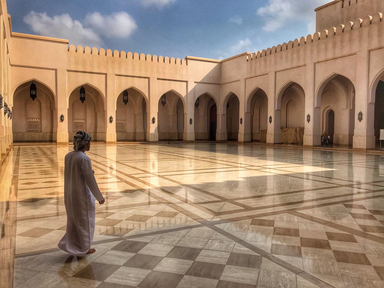 Mosque in Salalah